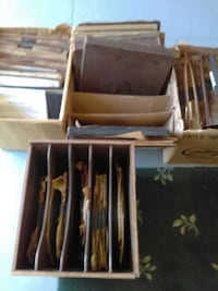 Collectors - 12 large boxes of albums and 33's Marion, 49665