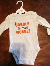 Onesies size 6 months brand new