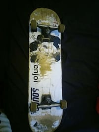 white and brown skateboard Calgary, T2J