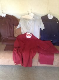 Men's XL summer outfits. 1 with shorts. 3 with long pants. $15 for all 4 Fairview, 28730