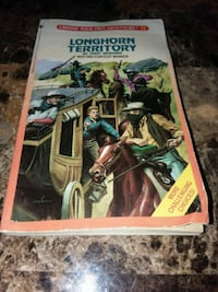 Longhorn territory choose your own adventure