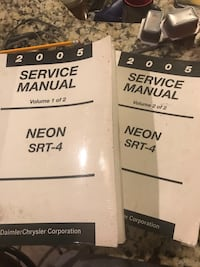 SRT-4 Service Manuals Montgomery, 36113
