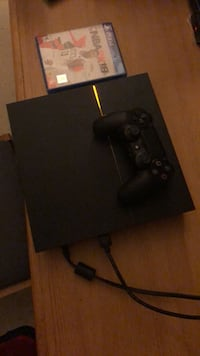 Black sony ps4 console with controller San Antonio, 78236