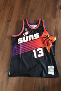 Brand new men's XL tags on Steve Nash 96-97 NBA jersey Edmonton, T6L 6X6