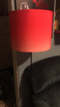 white and red table lamp Denison, 75020