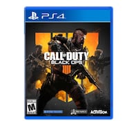Selling black ops 4 for PS4 don't play it anymore  Kitchener, N2R 1S1