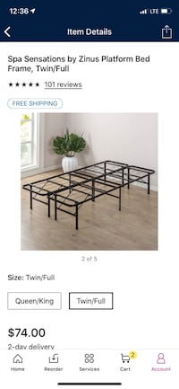 Twin Bed Frame  Gainesville