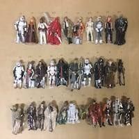 Star Wars Action Figures Hasbro and Kenner  Ontario, 91761