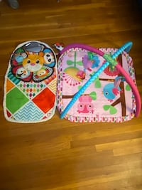 Baby activity gym and play mat