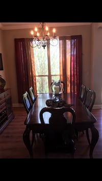 Olinde's Real Wood Dining Room Table  Broussard