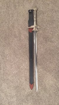Long Sword with Leather Sheath Capitol Heights, 20743
