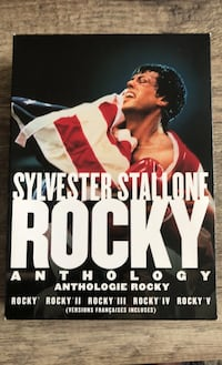Rocky DVD box set, 1-5