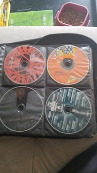 Punk, metal and rock cd's