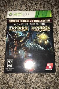 Xbox 360 bioshock 1 and 2 with add-ons Sioux Falls, 57107