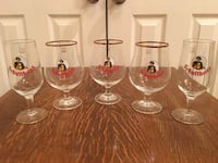 VTG Schultheiss Beer Glasses Lot From the  Schultheiss Brewery Berlin