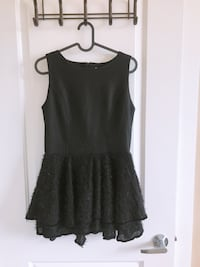 VGUC black dress size: M