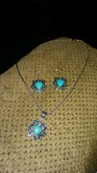 Turquoise jewelry set 9 Greeneville, 37743