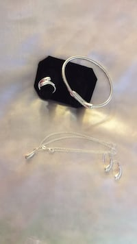 5 Pcs. Accessories 925 Silver set Olney
