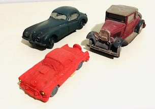 Vintage Car Colletibles Dream Machine Red Sandstone & Pure Imports