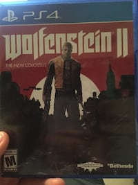 Wolfenstein 2 The New Colossus PS4 Tampa