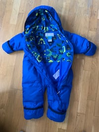 Columbia baby snow suit 6-12 months