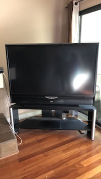 56 inch JVC TV and tv stand Los Angeles, 91406