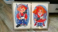 two red and blue Disney Frozen themed textiles Montréal, H4B 2P1