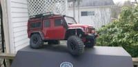 red and black Jeep Wrangler Butler, 16001