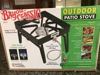 New in Box Black outdoor patio stove Los Angeles, 91344