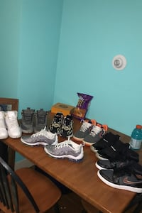 jordans, air maxes, vapor maxes, air force ones