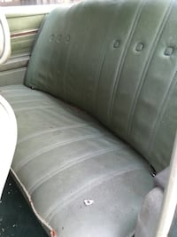 gray leather car seat Athens
