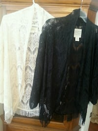 Designer's Closet Billabong Lace Shrugs Goffstown