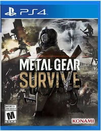PS4 metal gear survive Langley, V3A