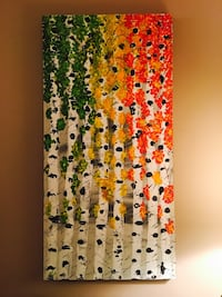 """transition """" 48""""x24"""" stretched canvas x 1.5"""" deep profile. Pickup Edgemont nw  Calgary, T3A 4R8"""