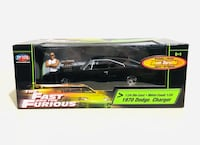 Rare! The Fast and the Furious 1970 Dodge Charger 1:24 Die Cast Milton, L9T 4H8