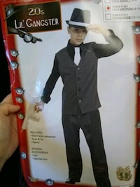 Child M(8-10)20's Lil Gangster Costume Ringgold, 30736
