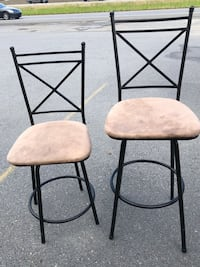 Set of 2 bar stools Benton