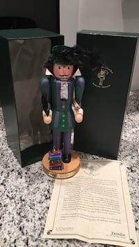 Rare - 1997 Zemlin Author Nutcracker- William Shakespeare Covington, 41011