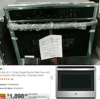 """New ge 30"""" convection single walloven stainless st Fort Lauderdale"""