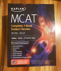 MCAT Complete 7-Book Subject Review  Toronto, M6N 3E9