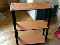 brown and black wooden side table Philadelphia, 37846