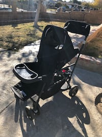 Two baby stroller