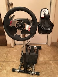Logitech G27 Driving Force Racing Wheel w,Shifter,Pedals & Stand Milpitas, 95035