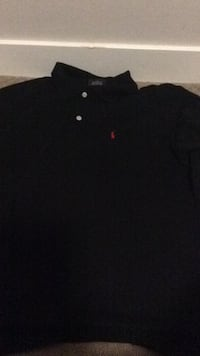 Black polo tee Burnaby, V3N 0G5