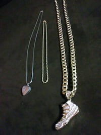 Multi Chains some with charms and 1 charm seperate Louisville, 40216