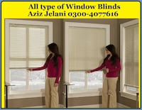 Window Blinds For Home And Office Lahore