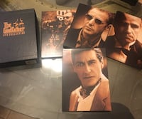 The Godfather dvd collection  Brampton, L6Y 0R8