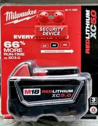 Brand new Milwaukee battery 5.0