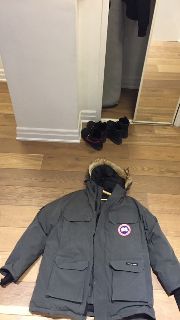 Gray Canada Goose Limited Edition Jacket #3 Dion Phaneuf