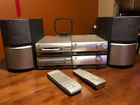 JVC Compact Component System with Minidisc Recorder Issaquah, 98029